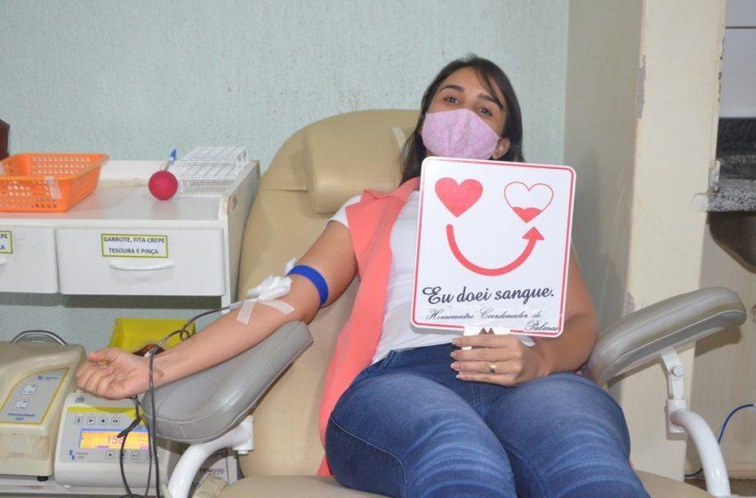 Saúde divulga campanha que estimula os servidores públicos à doação de sangue